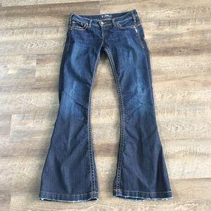 Silver Camden Rose Bell Women's Jeans- SZ W29/L33